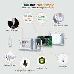 Выключатель Sonoff RF управляемый по Wi-Fi и 433MHz RF для «умного дома».