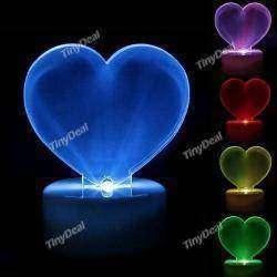 Светильник сердечко