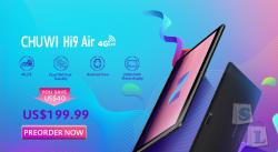 Предзаказ на планшет CHUWI Hi9 Air - $ 199.99 до 19 апреля!