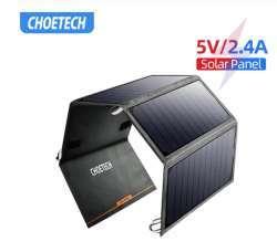 Обзор солнечной зарядки CHOETECH SC003-1 (24W) - насколько это надо в походе?