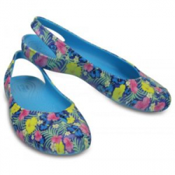 Женские 'кроксы' Women's Olivia II Graphic Flat