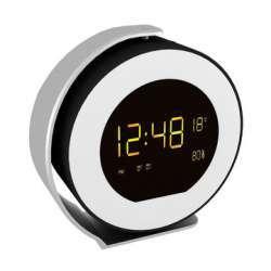 Часы-будильник с динамиком, подсветкой, радио и Bluetooth