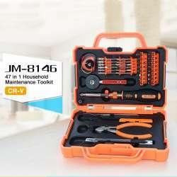 Набор JAKEMY JM-8146 CRV c удлиненными битами 47 в 1