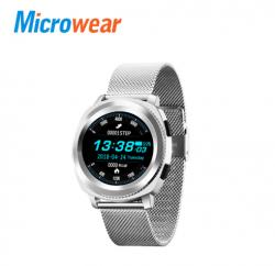 Смартчасы MicroWear L2 Много металла, раскладной замок, современный полносенсорный экран и защита IP68