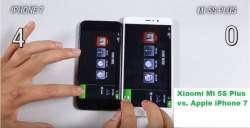 Кто быстрее - Xiaomi Mi 5S Plus или Apple iPhone 7 - сравнение скорости