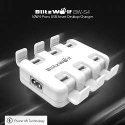 Обзор шестипортового зарядного устройства BlitzWolf BW-S4