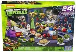 Обзор детских адвент календарей LEGO и Mega Bloks 'Черепашки нинзя'