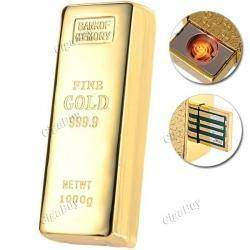 Cool Gold Rechargeable Flameless Electronic Cigarette Lighter