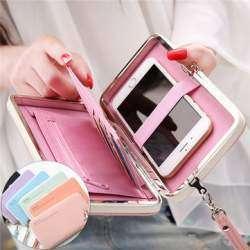 Универсальный многофункциональный чехол-кошелек Prettyzys для телефона