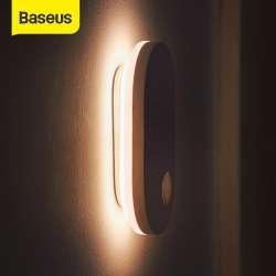 Аккумуляторный ночник Baseus с ИК датчиком движения и освещенности на магнитном креплении