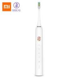 Обзор Xiaomi SOOCAS X3 - умная зубная щетка + насадки SOOCARE