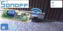 Автоматизация мотора ворот Itead Sonoff PSF B01 WiWi: управление со смартфона своими руками