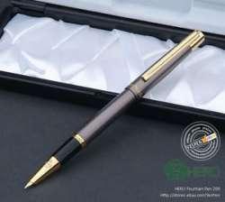 Hero 285. Красивая тонкопишущая перьевая ручка в подарочном футляре