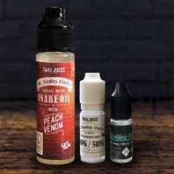 Обзор обновленного 'гадомасла' Snake Oil - Peach Venom. Лимитированная жидкость для парения от Tmax Juices