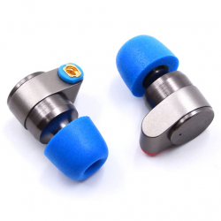 Tin Audio T2. Двухдрайверные динамические наушники - с тёплым, не агрессивным звучанием.