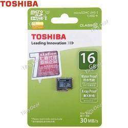 Micro SD TOSHIBA на 16gb