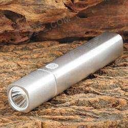 И фонарик и повербанк, со сменным 18650 элементом.