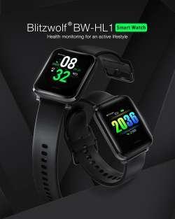 Добротные Smart часы BlitzWolf BW-HL1