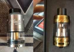 SMOK TFV12 монстр парообразования и Limiltless RDTA gold plus - серебряное вкусное диво дивное