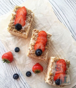 Готовим десерты без муки, масла и сахара по курсам на Складчике