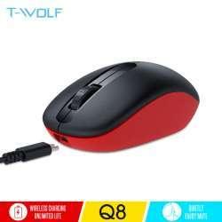 Бесшумная аккумуляторная мышь T-WOLF Q8