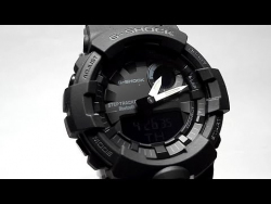Casio G-Shock GBA-800-1A — гибридные часы с шагомером и Bluetooth. Что за зверь?