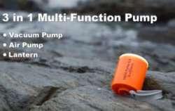 Обзор GIGA Pump2 - универсальный насос-лампа и успех на Indiegogo
