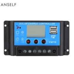 Мини-обзор контроллера Anself 20A 12V/24V для солнечных панелей