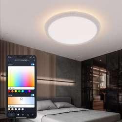 Новая модель потолочного смарт светильника BlitzWolf – ярче и с RGB эффектами