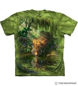 Футболка The Mountain с рисунком Enchanted Tiger