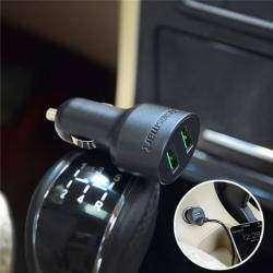 Автомобильная зарядка TRONSMART на два порта USB с поддержкой Qualcomm QC 2.0