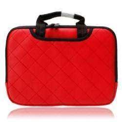 Красный защитный непромокаемый чехол для планшета или нетбука 10.2' (29х22х3 см)