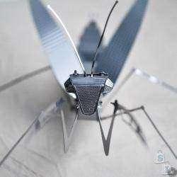 'Богомол', металлический 3D пазл в виде насекомого