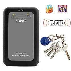Бокс для HDD с AES шифрованием и RFID идентификацией