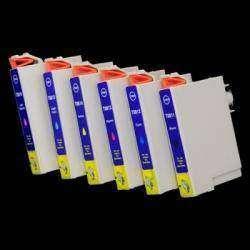 Совместимые картриджи EPSON T0811/T0812/T0813/T0814/T0815/T0816