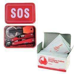 SOS набор и салфетки с йодом