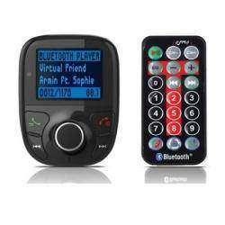 FM трансмиттер + Bluetooth + USB и microSD плеер (небольшой 'ручной допил')