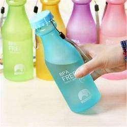 Разноцветные бутылочки