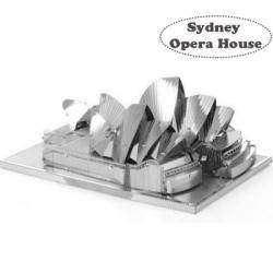 Металлический 3D пазл - 'Сиднейский оперный театр', Sydney Opera House Model 3D DIY