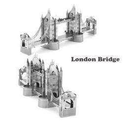 Обзор двух метталических 3D пазлов: 'Ветряная мельница' и 'Лондонский мост' (Windmill, London Bridge)
