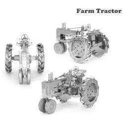 Металлический 3D пазл, который я почти удачно сложила, Farm Tractor (с. х. трактор)