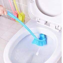 Щетка для унитаза, Home Bathroom Cleaning Tool Double Sides Toilet Scrubbing Brush