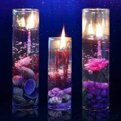 Сувенирные романтические арома-свечи