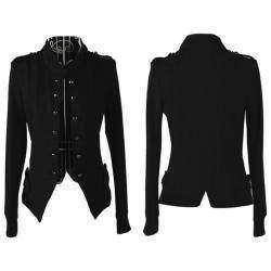 Черная женская кофта-жакет