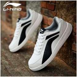 Черно-белые кроссовки Li-Ning ALCJ131