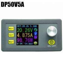 Обзор DP50V5A - управляемого DC-DC конвертера с экраном и ячейками памяти
