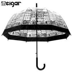 Обзор зонта-трости с прозрачным куполом