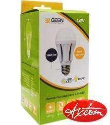 Обзор качественной светодиодной лампы на 12W с цоколем Е27 GEEN LB-222