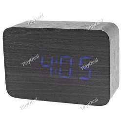 Хорошие электронные часы с 'деревянным' дизайном