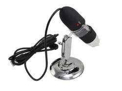 Цифровой USB микроскоп c заявленным увеличением 200X